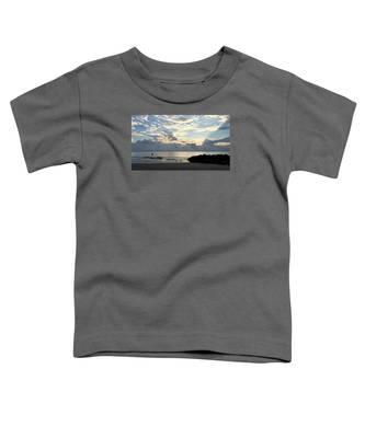 Lone Fishing Toddler T-Shirt