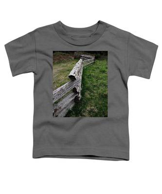 Log Fence Toddler T-Shirt