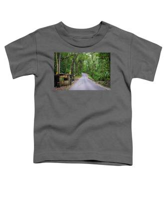Lonely Country Road Toddler T-Shirt