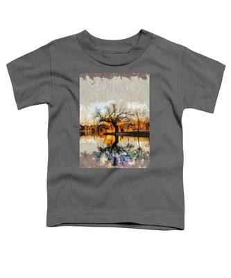 Lonely Tree And Its Thoughts Toddler T-Shirt