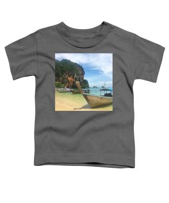 Waves Toddler T-Shirts