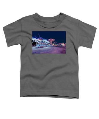 Merry Go Creepy Toddler T-Shirt