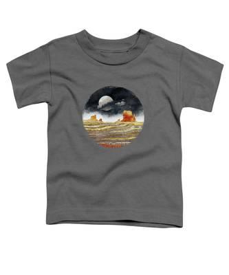 Desert Landscape Toddler T-Shirts