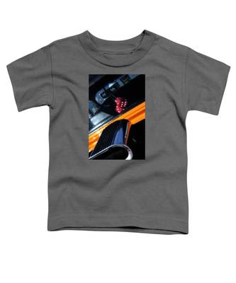 Midnight Dice In A Hot Rod Toddler T-Shirt