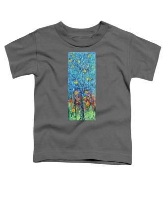Moon Flowers Toddler T-Shirt