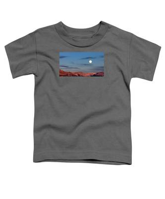 Moonrise With Afterglow Toddler T-Shirt