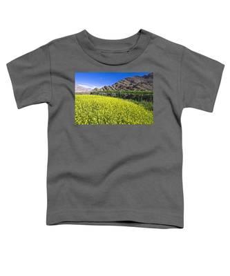Mustard Field, Hemis, 2007 Toddler T-Shirt