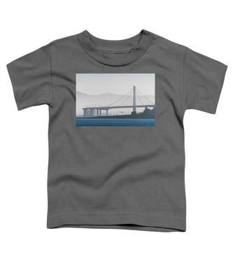 Oakland Bay Bridge Toddler T-Shirt