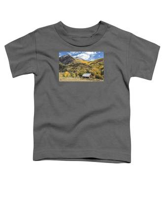 Old Shack And Equipment Toddler T-Shirt