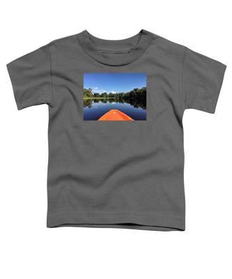Orange Kayak  Toddler T-Shirt