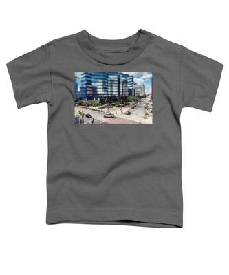 Pick-up Truck In The Itty-bitty-city Toddler T-Shirt