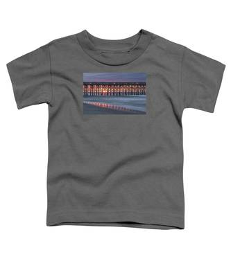 Pier With Sunrise Toddler T-Shirt