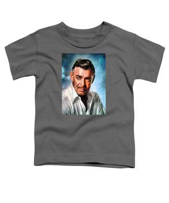 Portrait Of Clark Gable Toddler T-Shirt