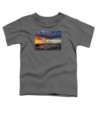 Purple Sky Toddler T-Shirt