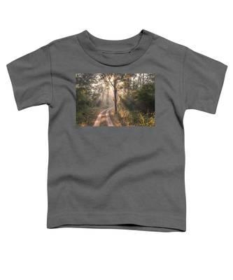 Rays Through Jungle Toddler T-Shirt