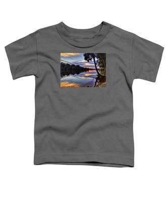 Red Tranquility  Toddler T-Shirt