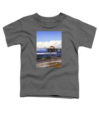Reflections On The Pier Toddler T-Shirt