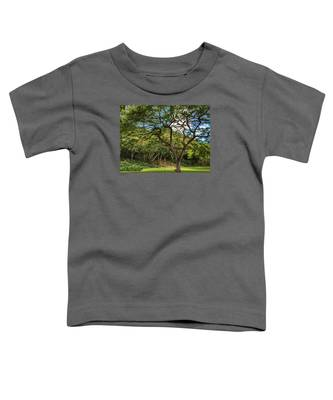 Relaxing Under The Tree Toddler T-Shirt