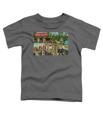 Rick's Cafe In Negril, Jamaica Toddler T-Shirt