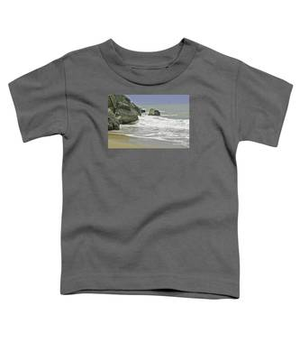 Rocks, Sand And Surf Toddler T-Shirt