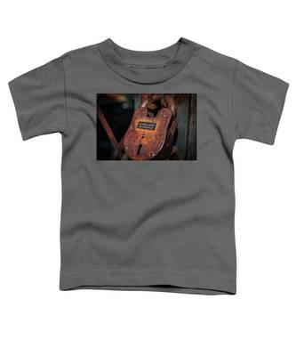 Rusty Lock Toddler T-Shirt