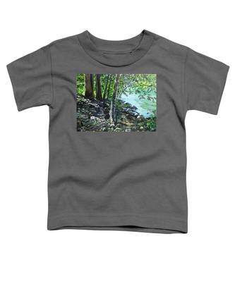 Shadows On The Bank Toddler T-Shirt