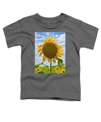 Toddler T-Shirt featuring the photograph Sister Golden Hair by Skip Hunt