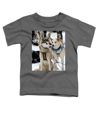 Sled Dogs Toddler T-Shirt