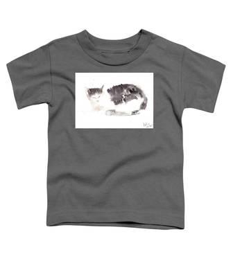 Snuggling Cat Toddler T-Shirt