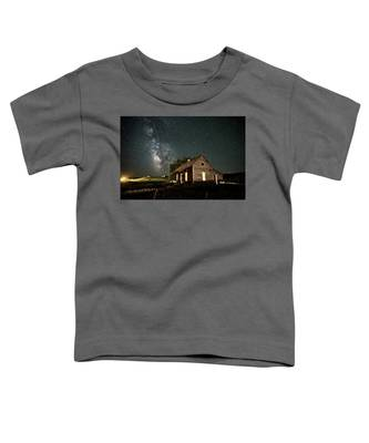 Star Valley Cabin Toddler T-Shirt