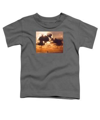 Sun Peek Sailboat Toddler T-Shirt