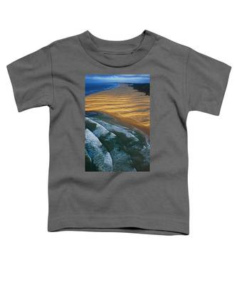 Toddler T-Shirt featuring the photograph Sun Rise Coast  by Skip Hunt