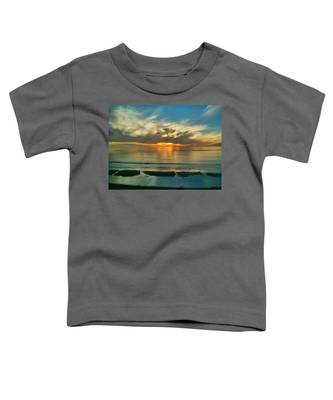 Sunset At Carlsbad Toddler T-Shirt