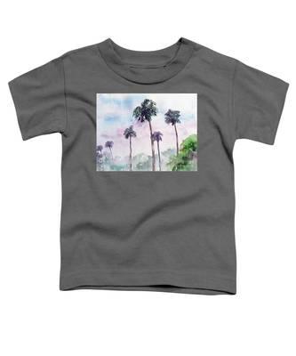 Swaying Palms Toddler T-Shirt