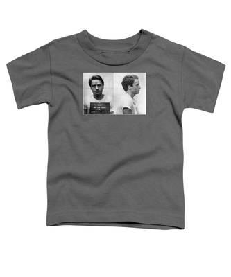 Ted Bundy Mug Shot 1975 Horizontal  Toddler T-Shirt