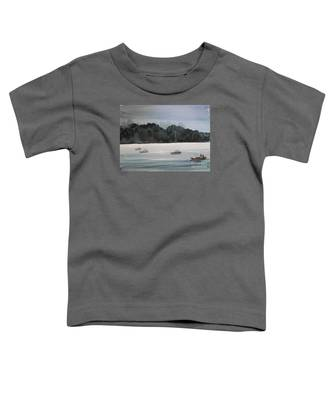 The Boat Ride Toddler T-Shirt