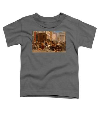 The Bulls And Bears In The Market Toddler T-Shirt