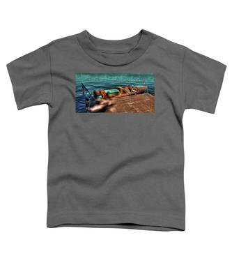 The Chris Craft Continental - 1958 Toddler T-Shirt