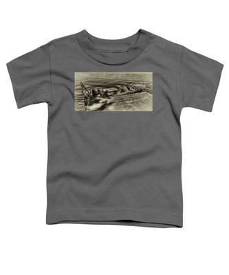 The Classic 1958 Chris Craft Toddler T-Shirt