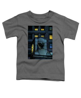 The Herald Square Owl Toddler T-Shirt
