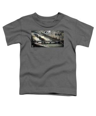 The River Seine - Paris Toddler T-Shirt