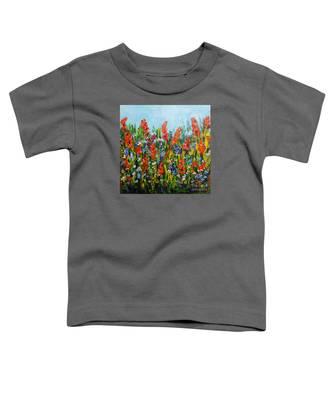 Through The Wild Flowers Toddler T-Shirt