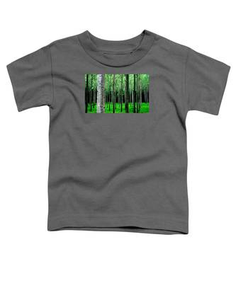 Trees In Rows Toddler T-Shirt