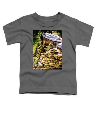 Trunk And Mushrooms Toddler T-Shirt