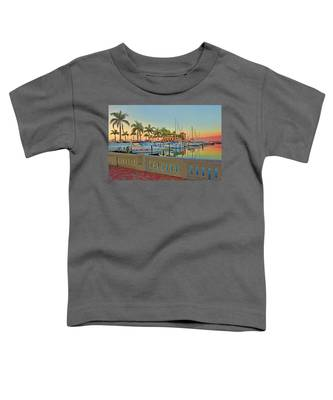 Twin Dolphin Marina Toddler T-Shirt