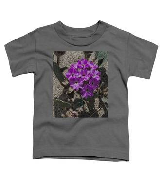 Violets In The Sand Toddler T-Shirt