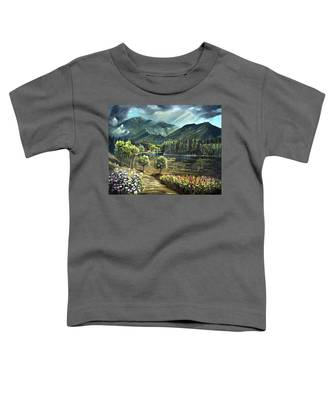 Vista View Of Cannon Mountain Toddler T-Shirt