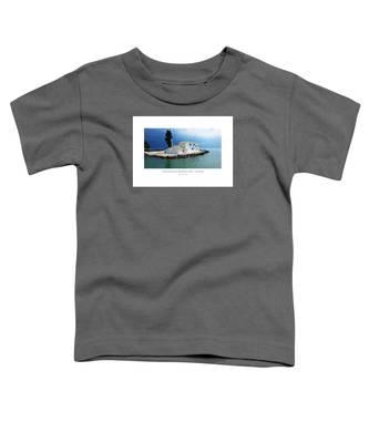 Vlachurna Monastary - Corfu Toddler T-Shirt