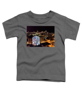 Water Tower Skyline Toddler T-Shirt