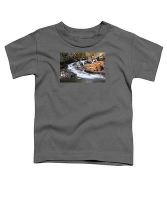 Waterfall In Lee Vining Canyon 2 Toddler T-Shirt